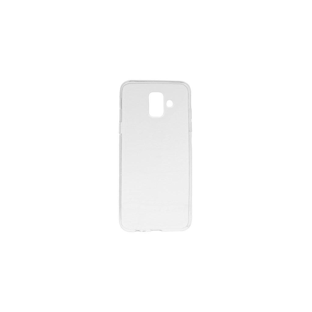 Ultratenký silikónový kryt na Samsung A6 0,5 mm priehľadný