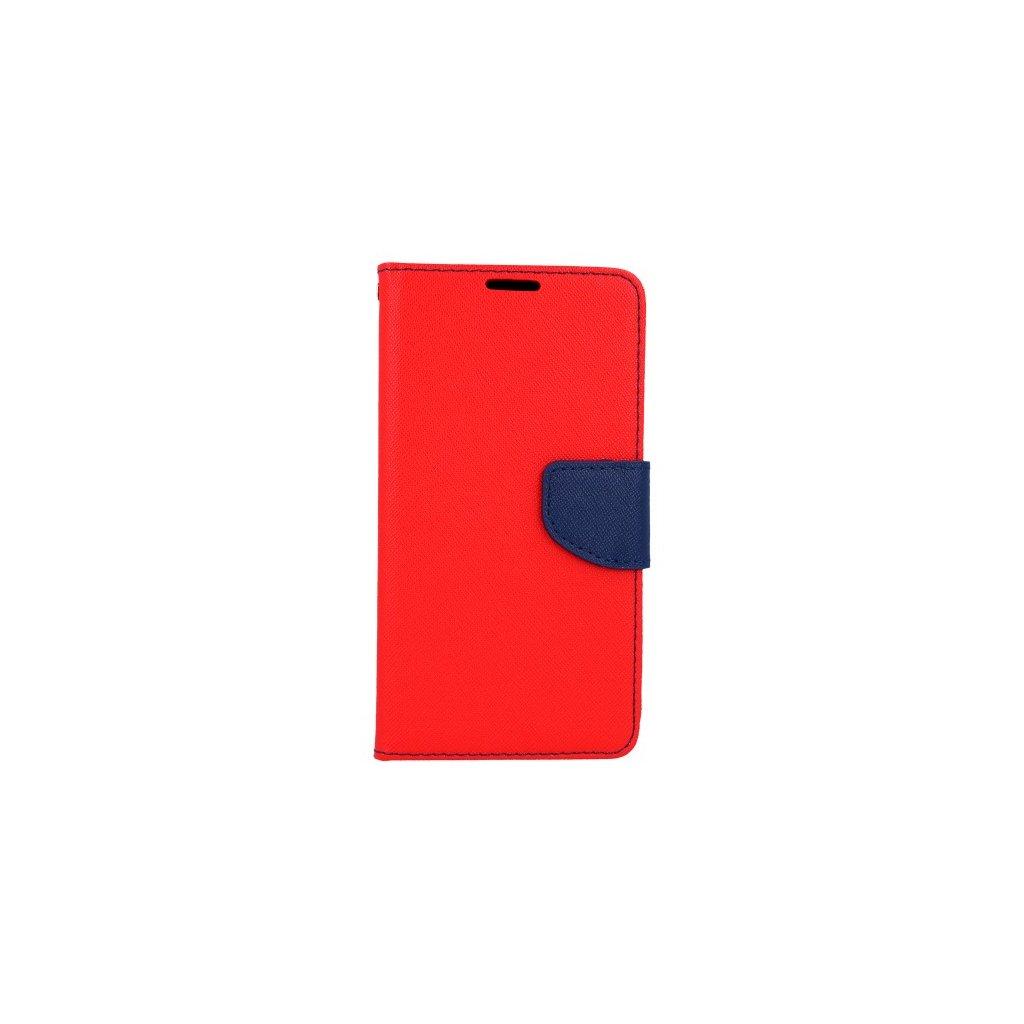 Flipové puzdro na Samsung A6 červené