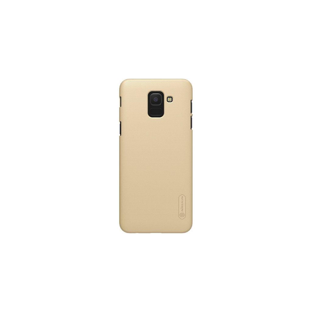Zadný pevný kryt Nillkin na Samsung J6 zlatý
