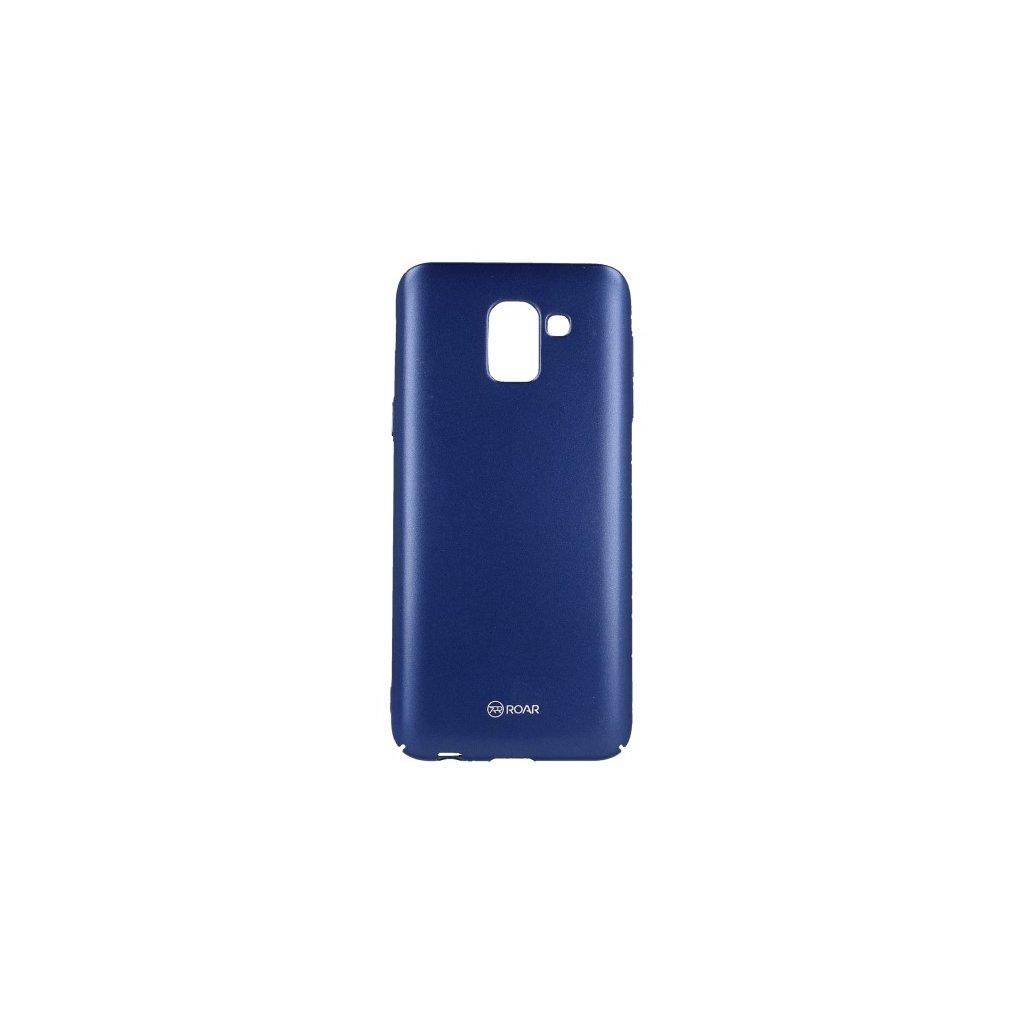 Zadný pevný kryt Roar DARKER na Samsung J6 modrý