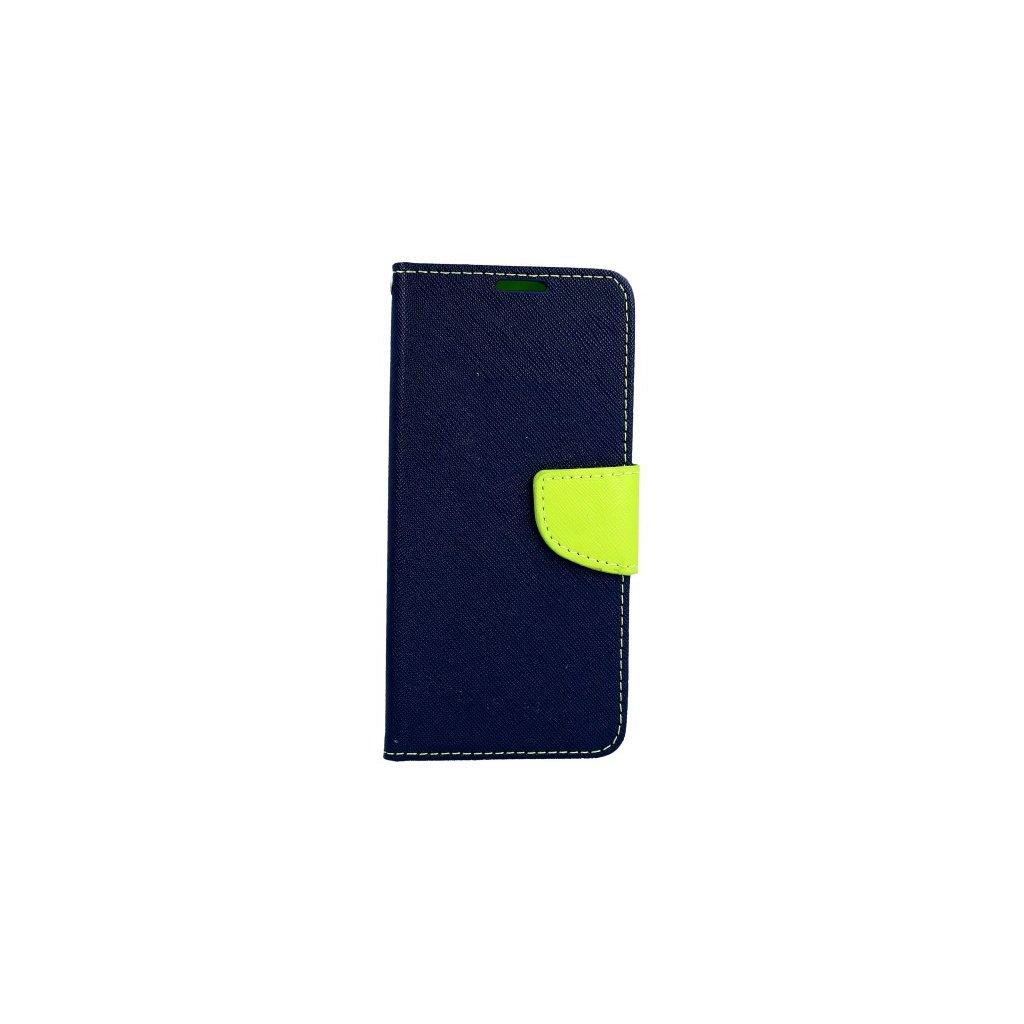 Flipové puzdro na Samsung J6 modré