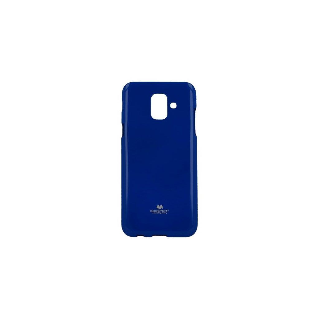 Zadný kryt Mercury Jelly Case na Samsung A6 modrý