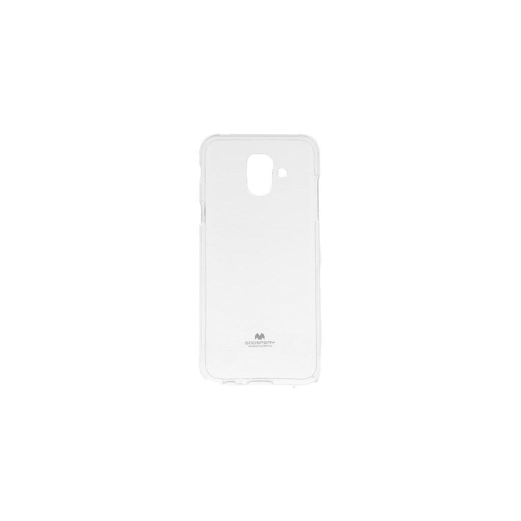 Zadný kryt Mercury Jelly Case na Samsung A6 priehľadný