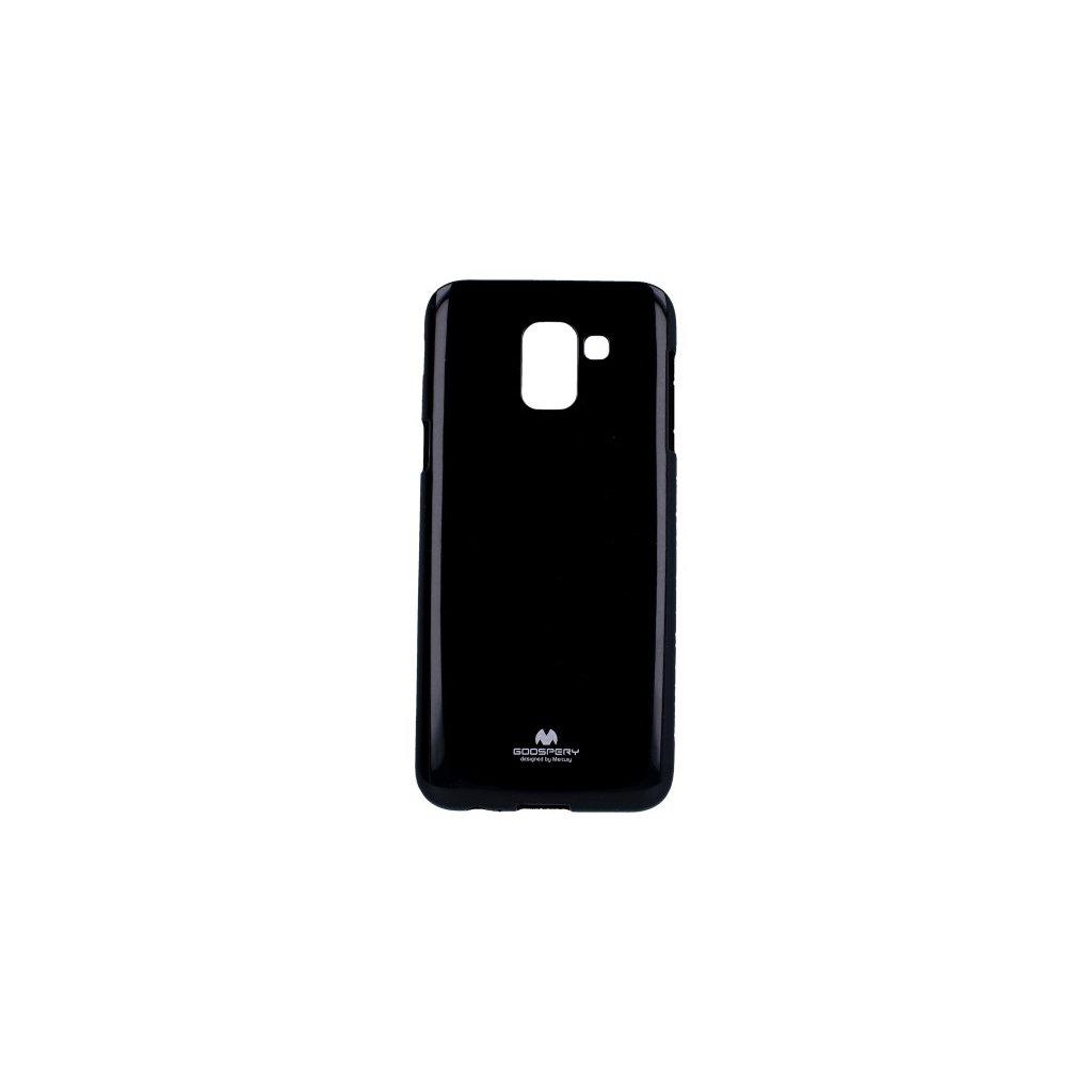 Zadný kryt Mercury Jelly Case na Samsung J6 čierny