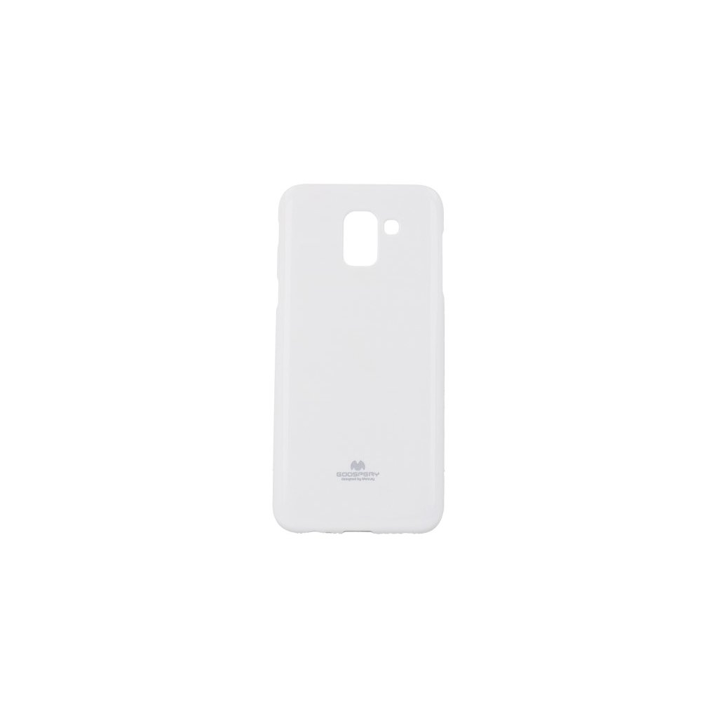 Zadný kryt Mercury Jelly Case na Samsung J6 biely