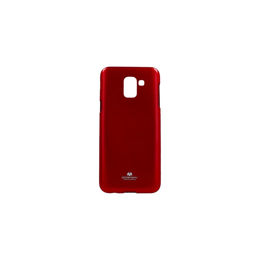 Zadný kryt Mercury Jelly Case na Samsung J6 červený