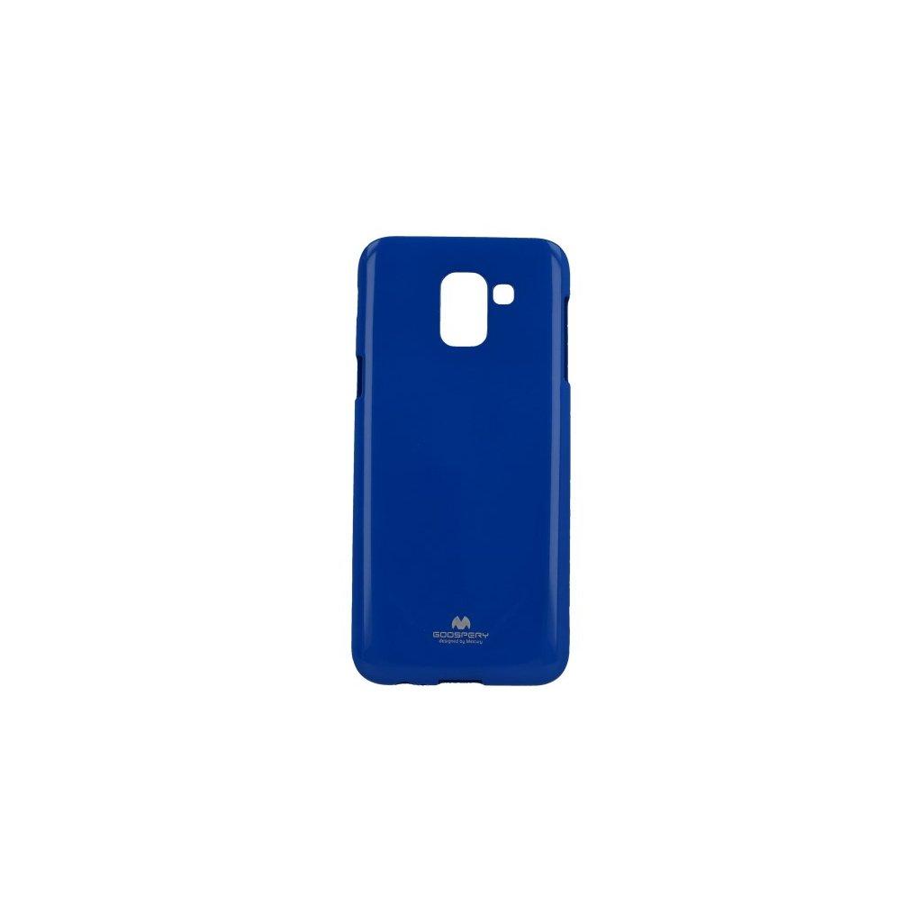 Zadný kryt Mercury Jelly Case na Samsung J6 modrý