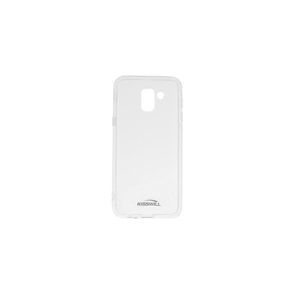 Zadný silikónový kryt Kisswill Air Around na Samsung J6 priehľadný