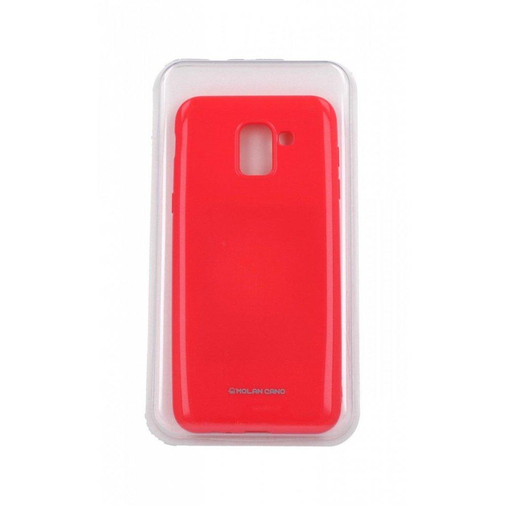 Zadný silikónový kryt Molan Cano Jelly na Samsung J6 ružový