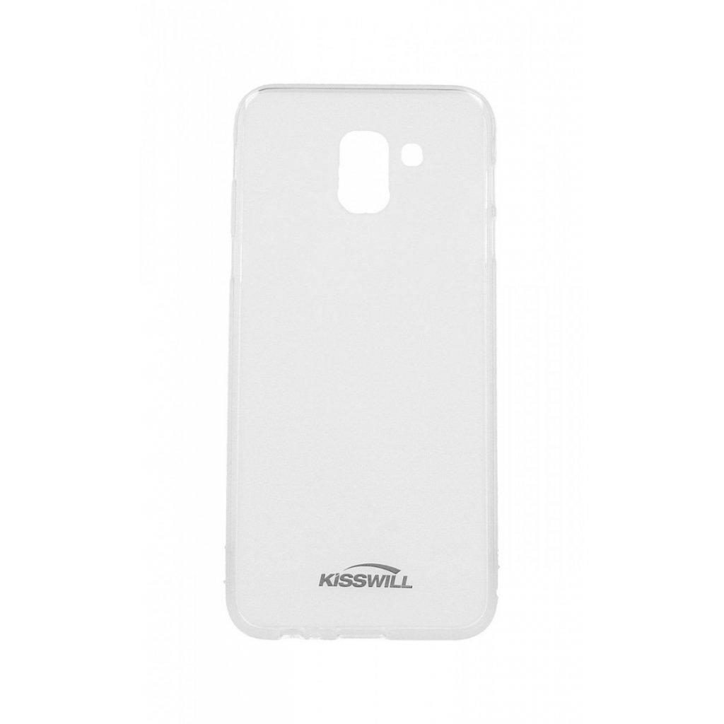 Zadný silikónový kryt Kisswill na Samsung J6 svetlý