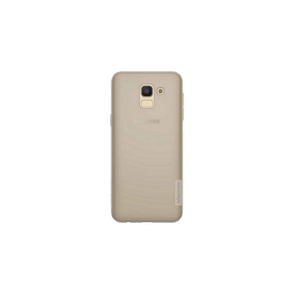 Ultratenký zadný kryt Nillkin na Samsung J6 tmavý