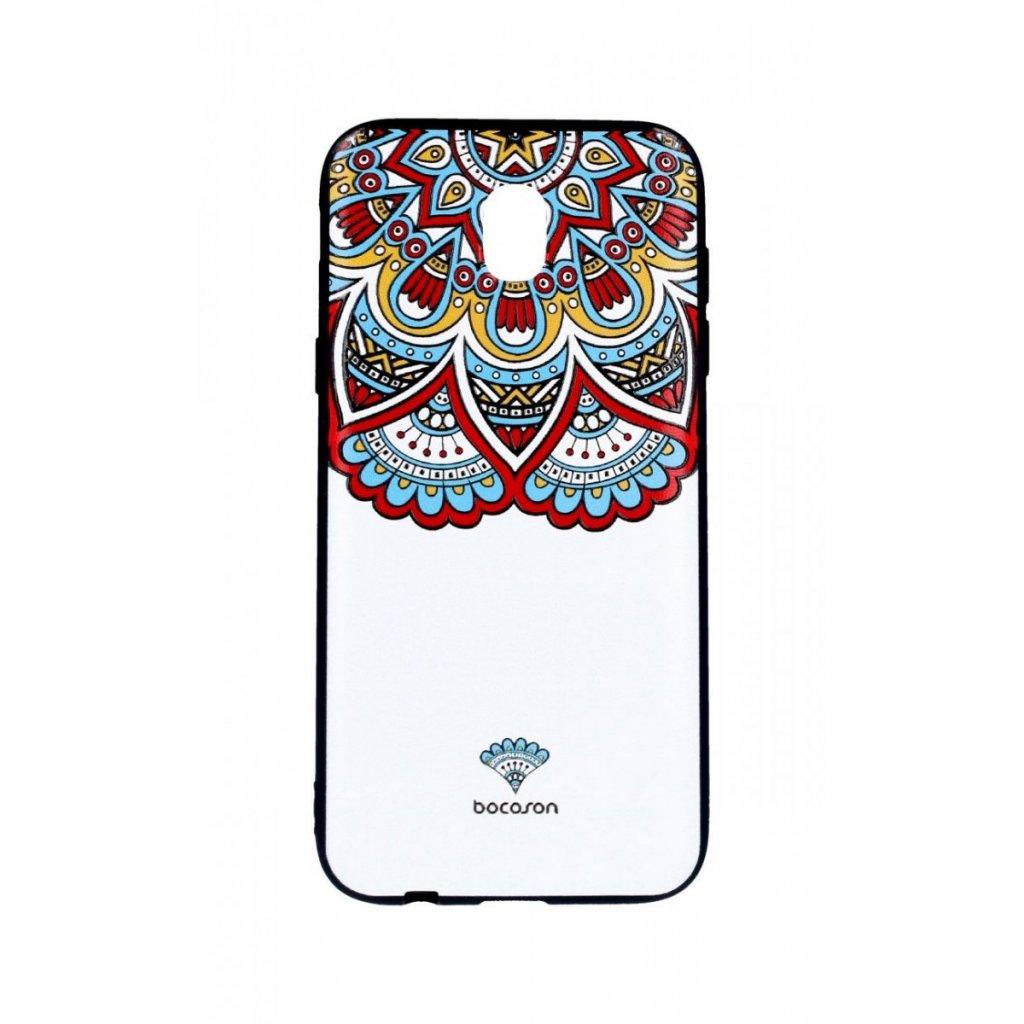 Zadný 3D silikónový kryt na Samsung J5 2017 Farebný motív