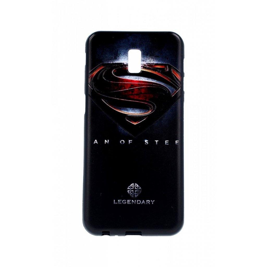 Zadný 3D silikónový kryt na Samsung J6 + Superman 2