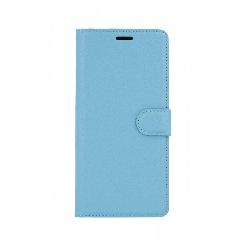 Flipové puzdro na Samsung J4 + modré s prackou