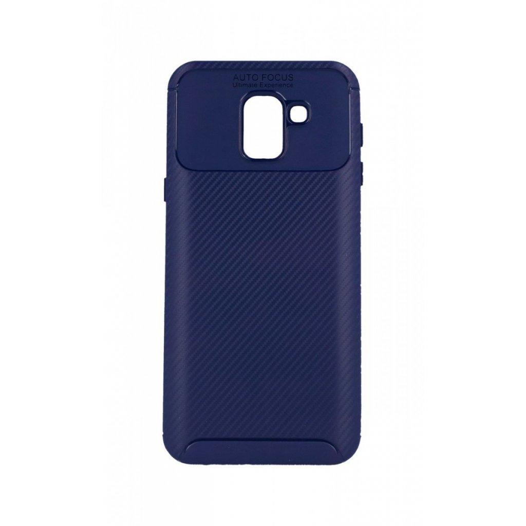 Zadný silikónový kryt Focus na Samsung J6 modrý