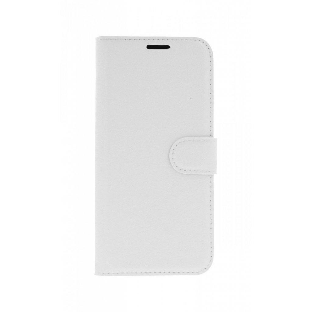 Flipové puzdro na Samsung J6 biele s prackou