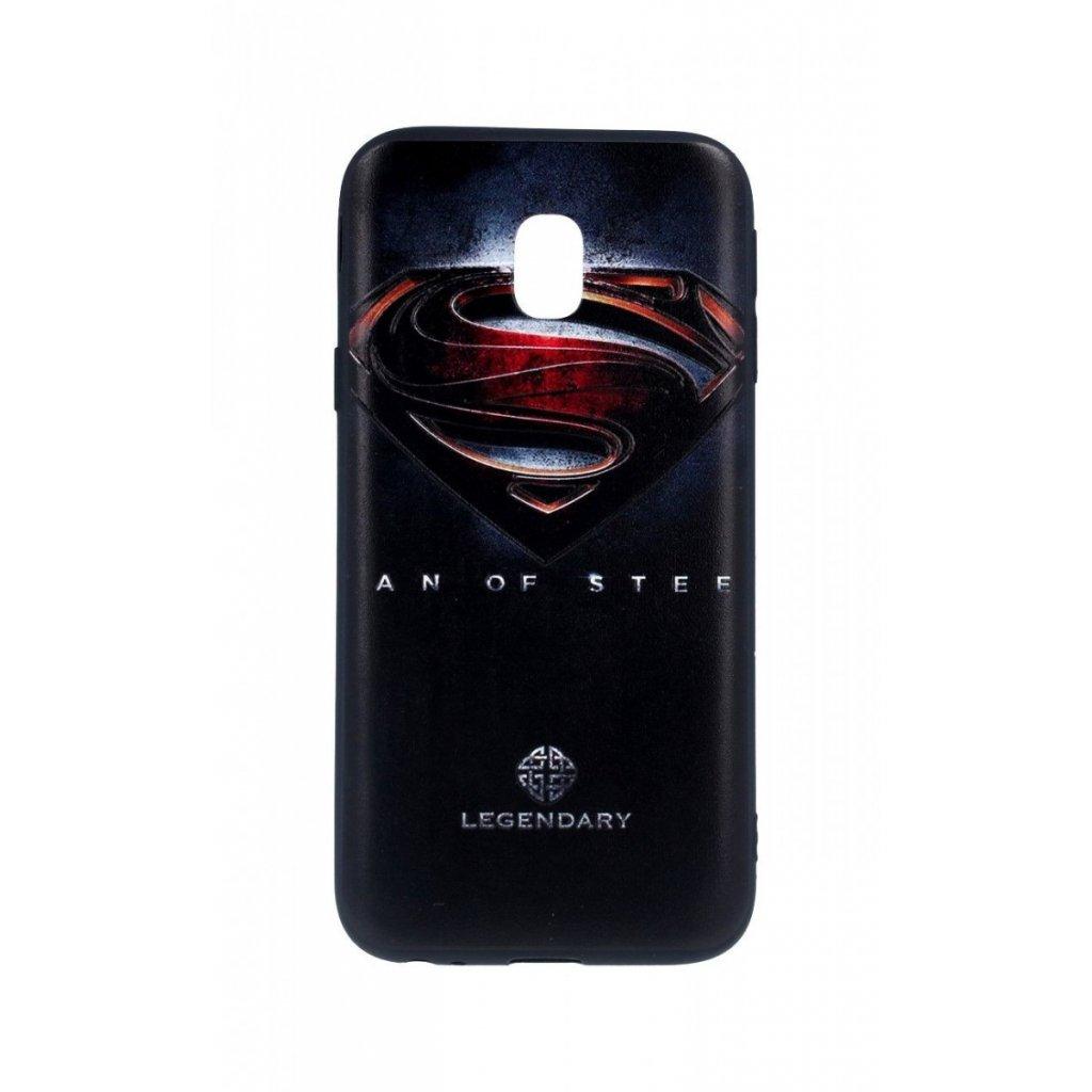Zadný 3D silikónový kryt na Samsung J3 2017 Superman 2