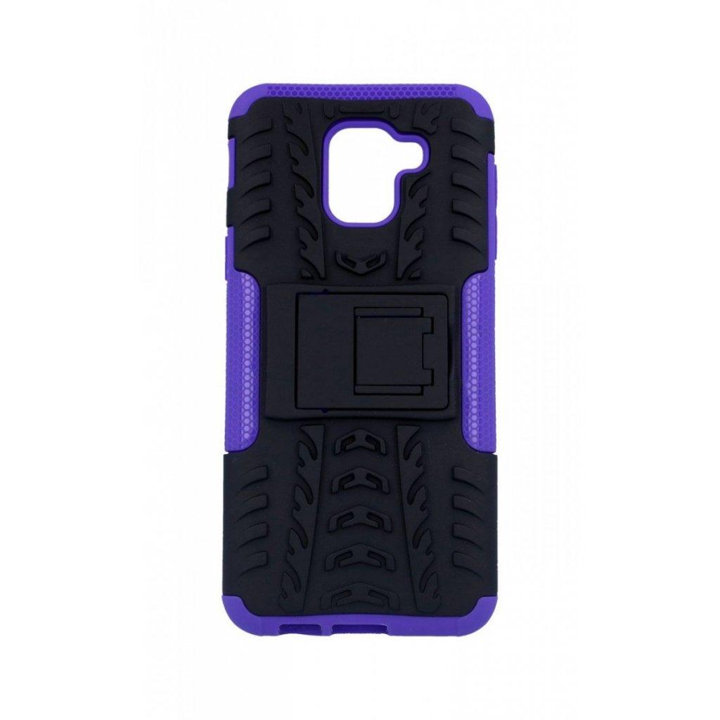 Zadný kryt na Samsung J6 so stojanom fialový