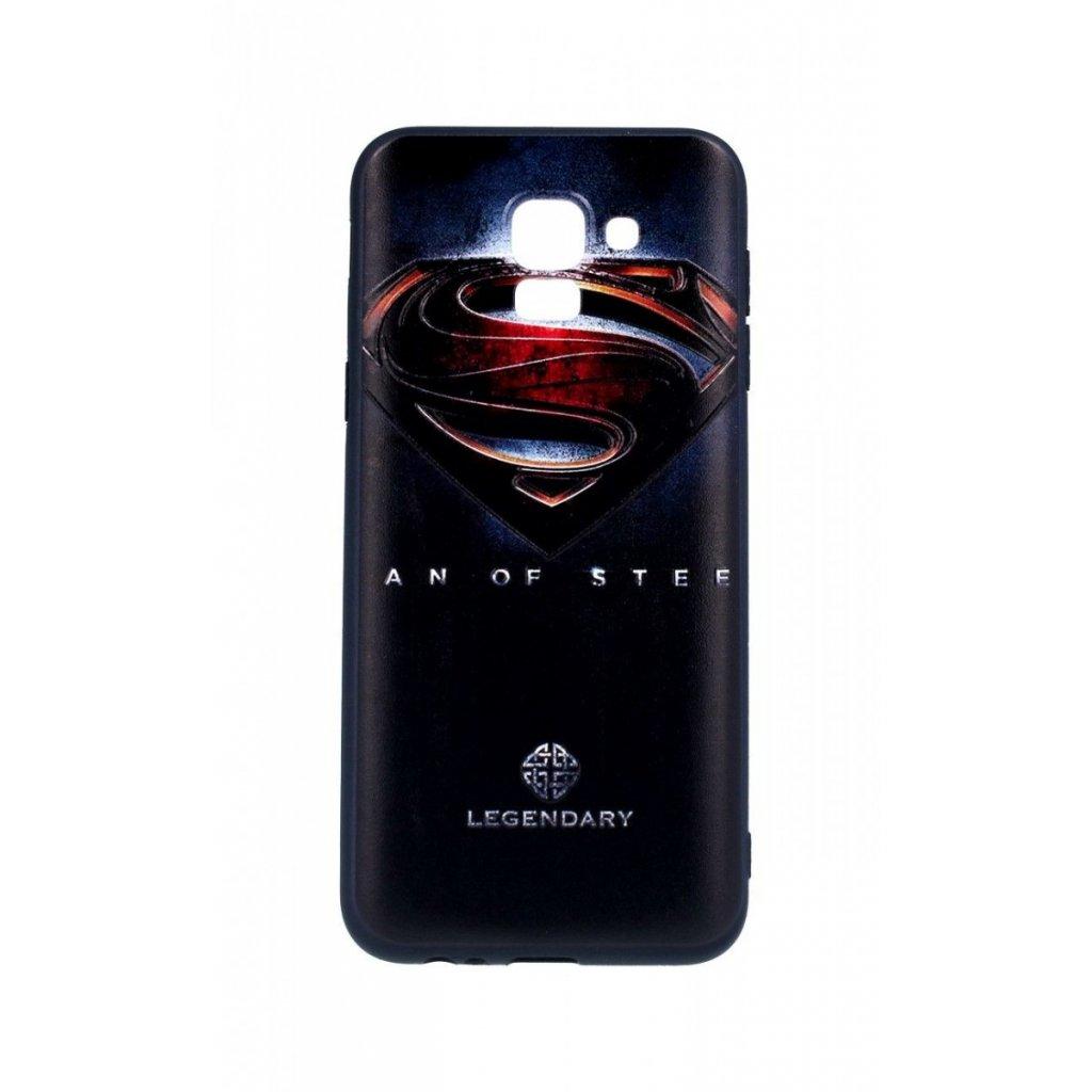 Zadný 3D silikónový kryt na Samsung J6 Superman 2