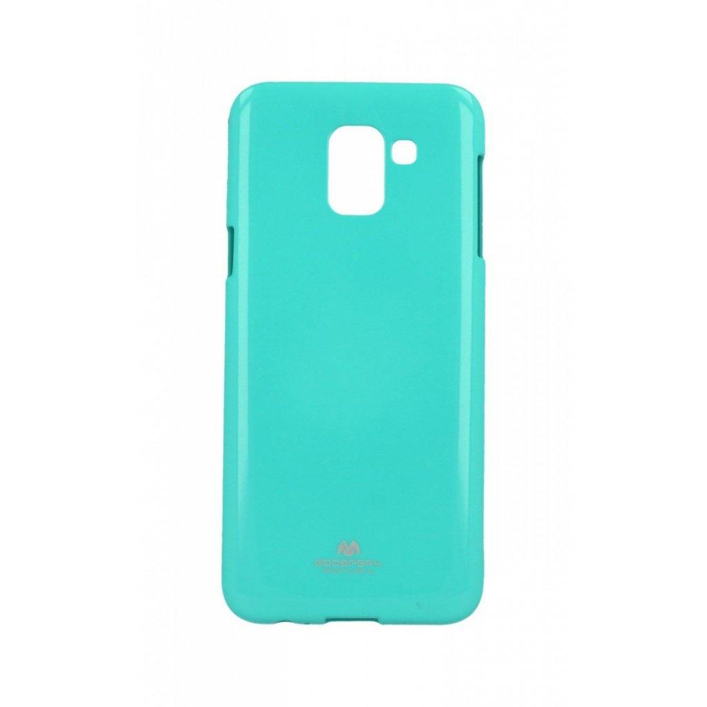 Zadný kryt Mercury Jelly Case na Samsung J6 mentolový