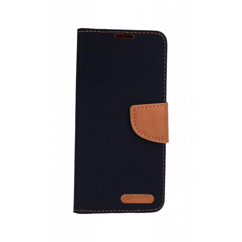 Flipové puzdro Canvas na Samsung J6 čierne