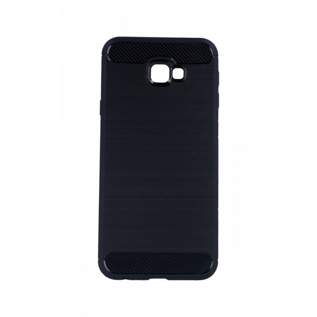 Zadný silikónový kryt na Samsung J4 + čierny