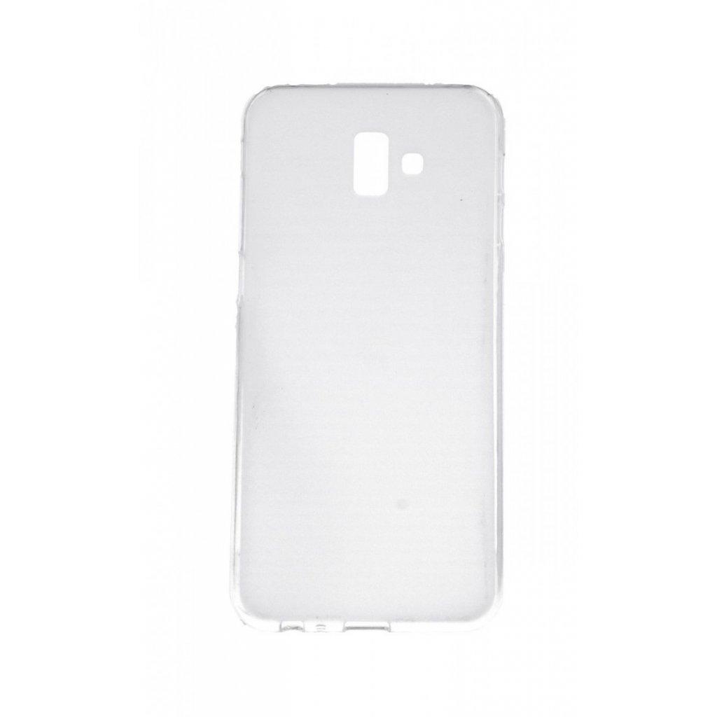 Zadný silikónový kryt na Samsung J6 + svetlý