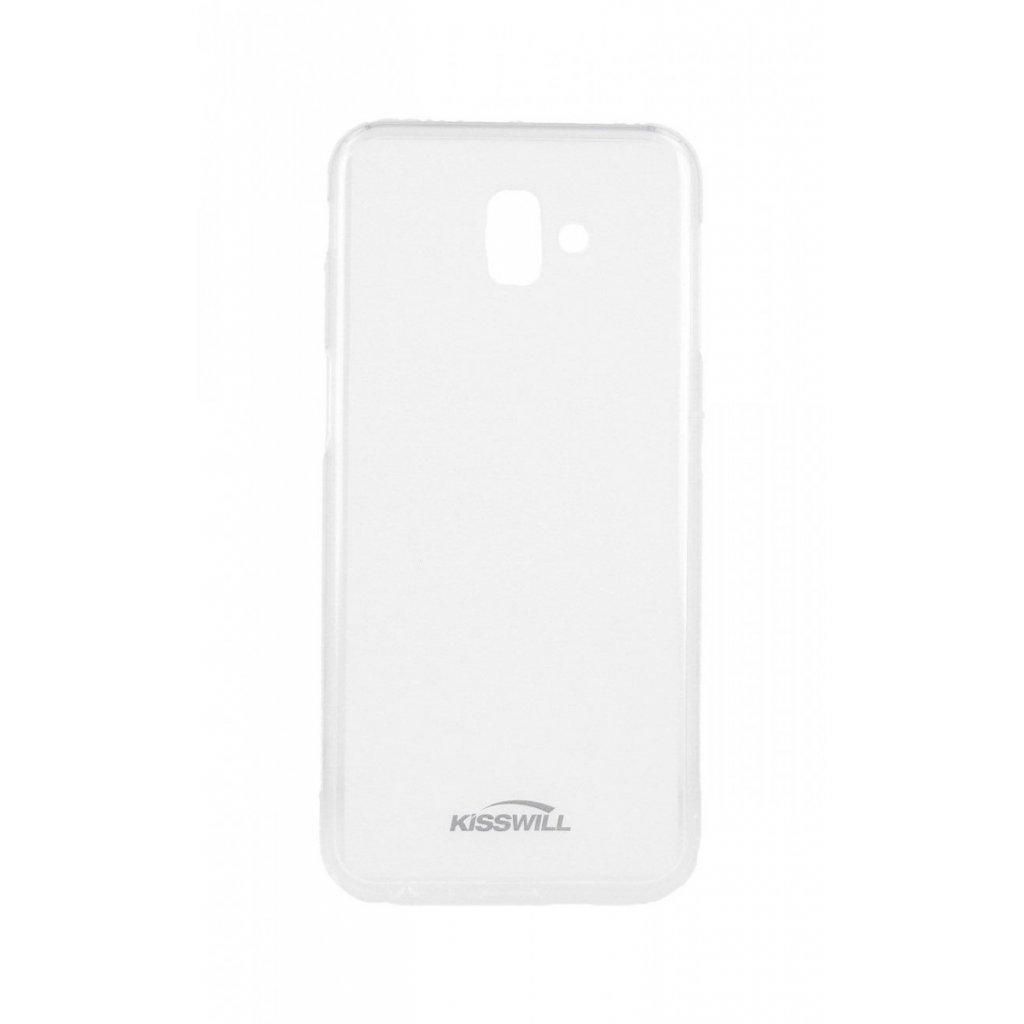 Zadný silikónový kryt Kisswill na Samsung J6 + svetlý