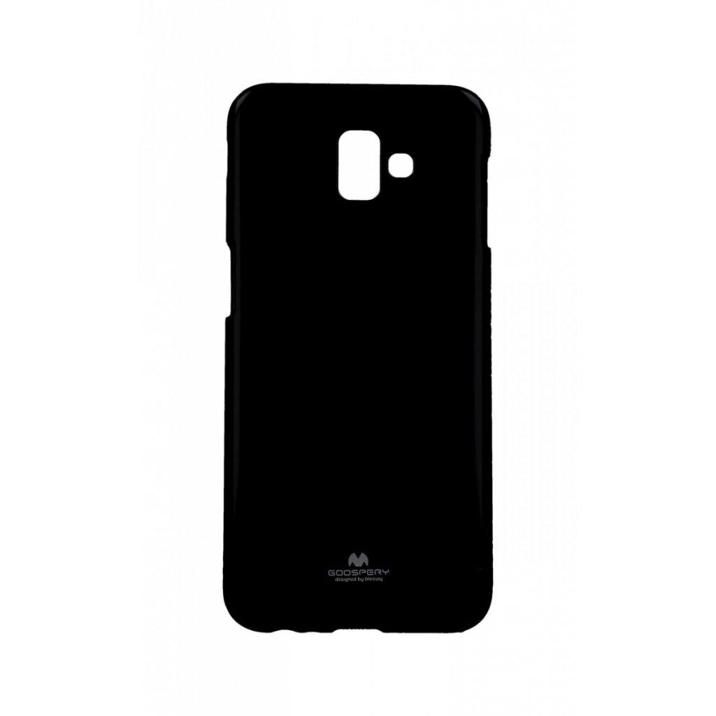 Zadný kryt Mercury Jelly Case na Samsung J6 + čierny