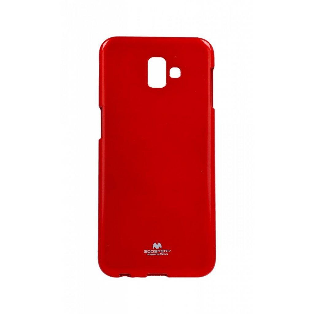 Zadný kryt Mercury Jelly Case na Samsung J6 + červený
