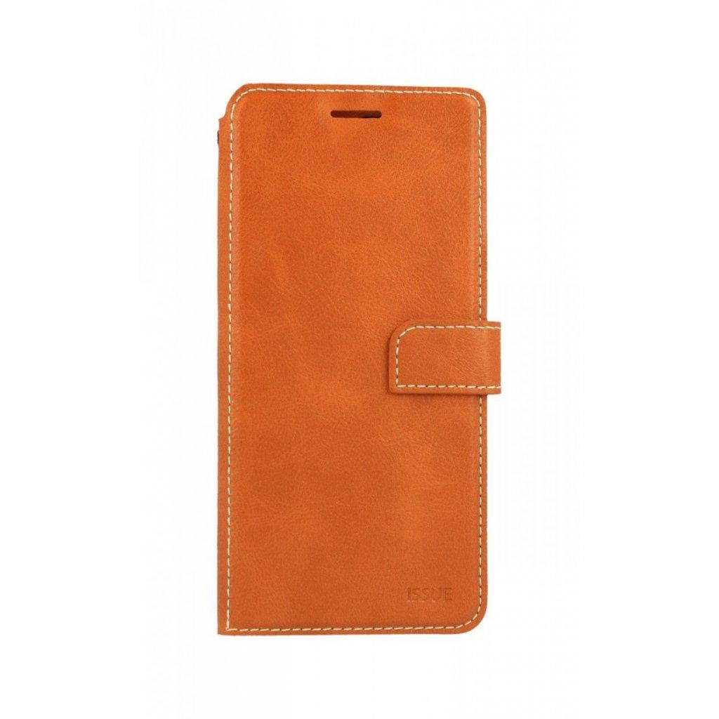 Flipové puzdro Molan Cano Issue Diary na Samsung J6 + hnedé