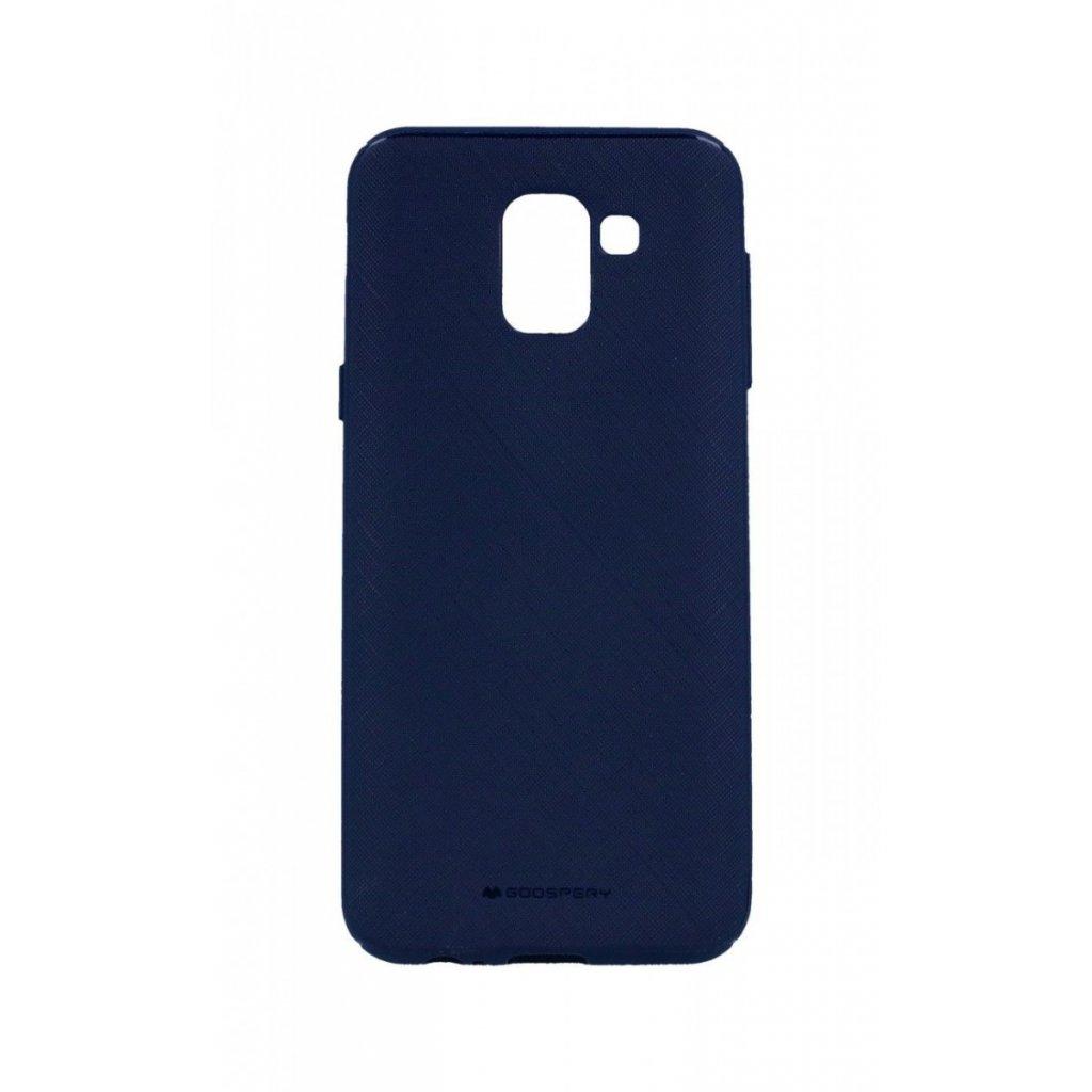 Zadný kryt Mercury Style Lux na Samsung J6 modrý tmavý