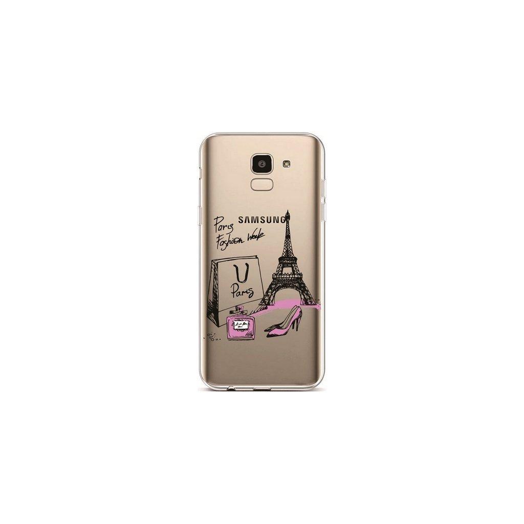 Zadný silikónový kryt na Samsung J6 Fashion Week