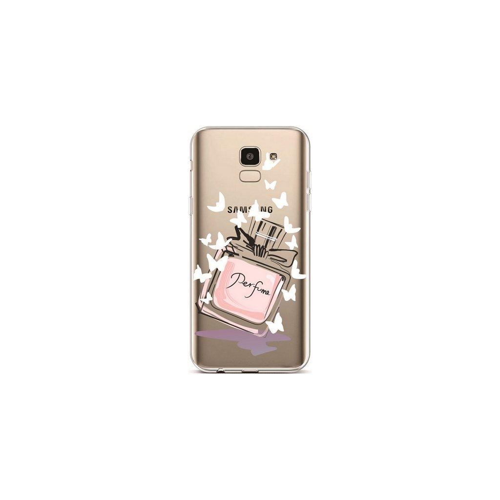 Zadný silikónový kryt na Samsung J6 Perfume