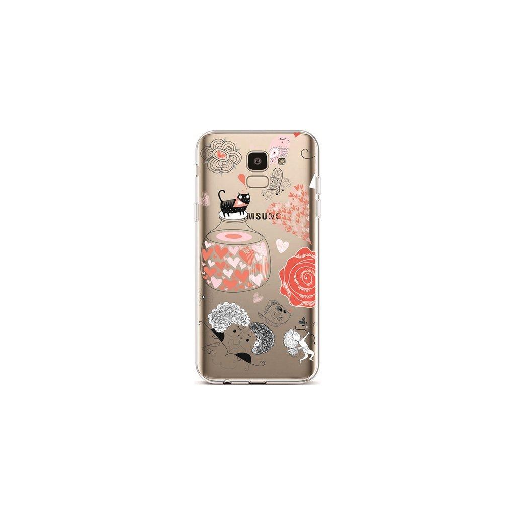 Zadný silikónový kryt na Samsung J6 L'amour