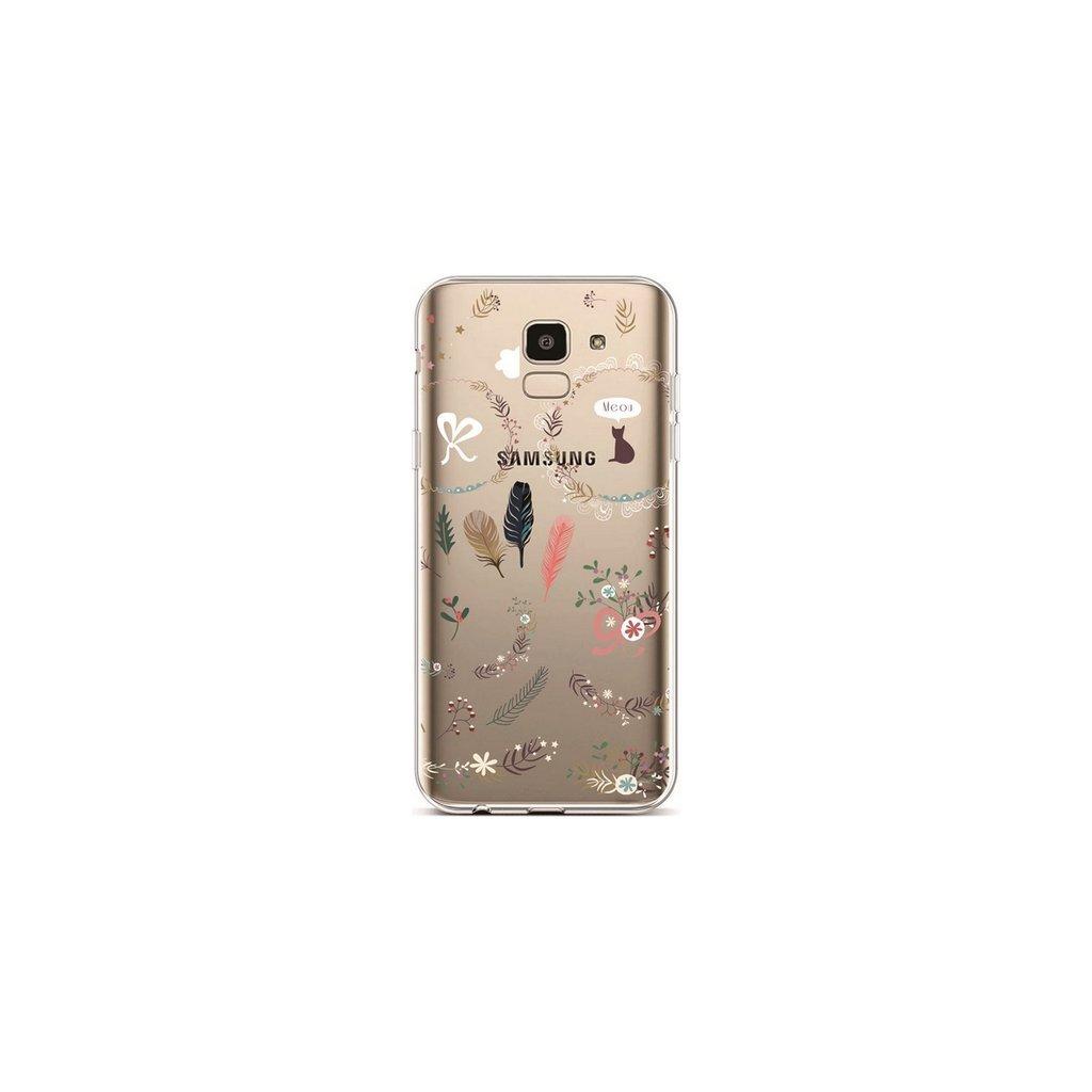 Zadný silikónový kryt na Samsung J6 Pierka 1