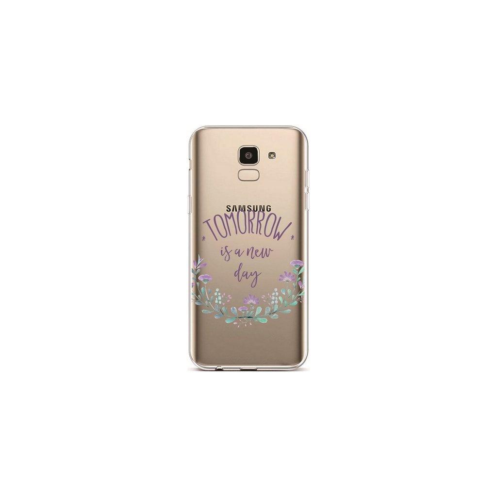 Zadný silikónový kryt na Samsung J6 Tomorrow