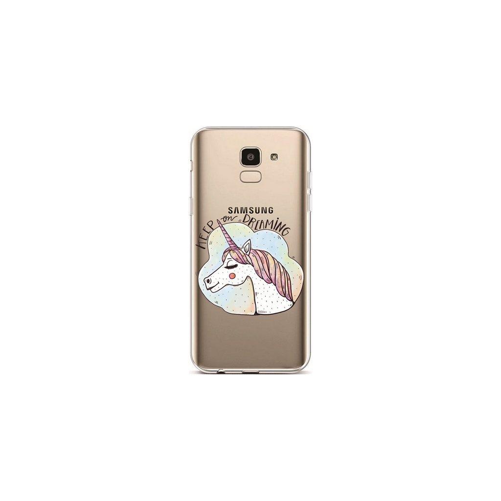 Zadný silikónový kryt na Samsung J6 Dreaming