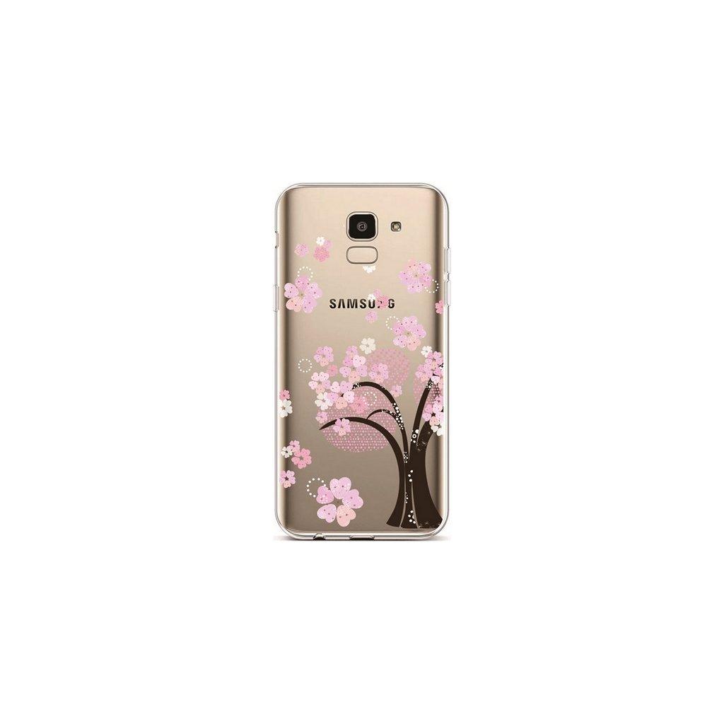 Zadný silikónový kryt na Samsung J6 Cherry Tree