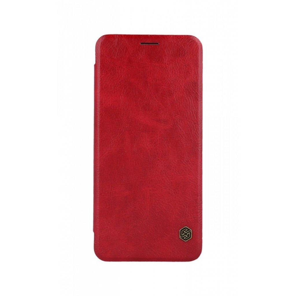 Flipové puzdro Nillkin Qin na Samsung A9 kožené červené