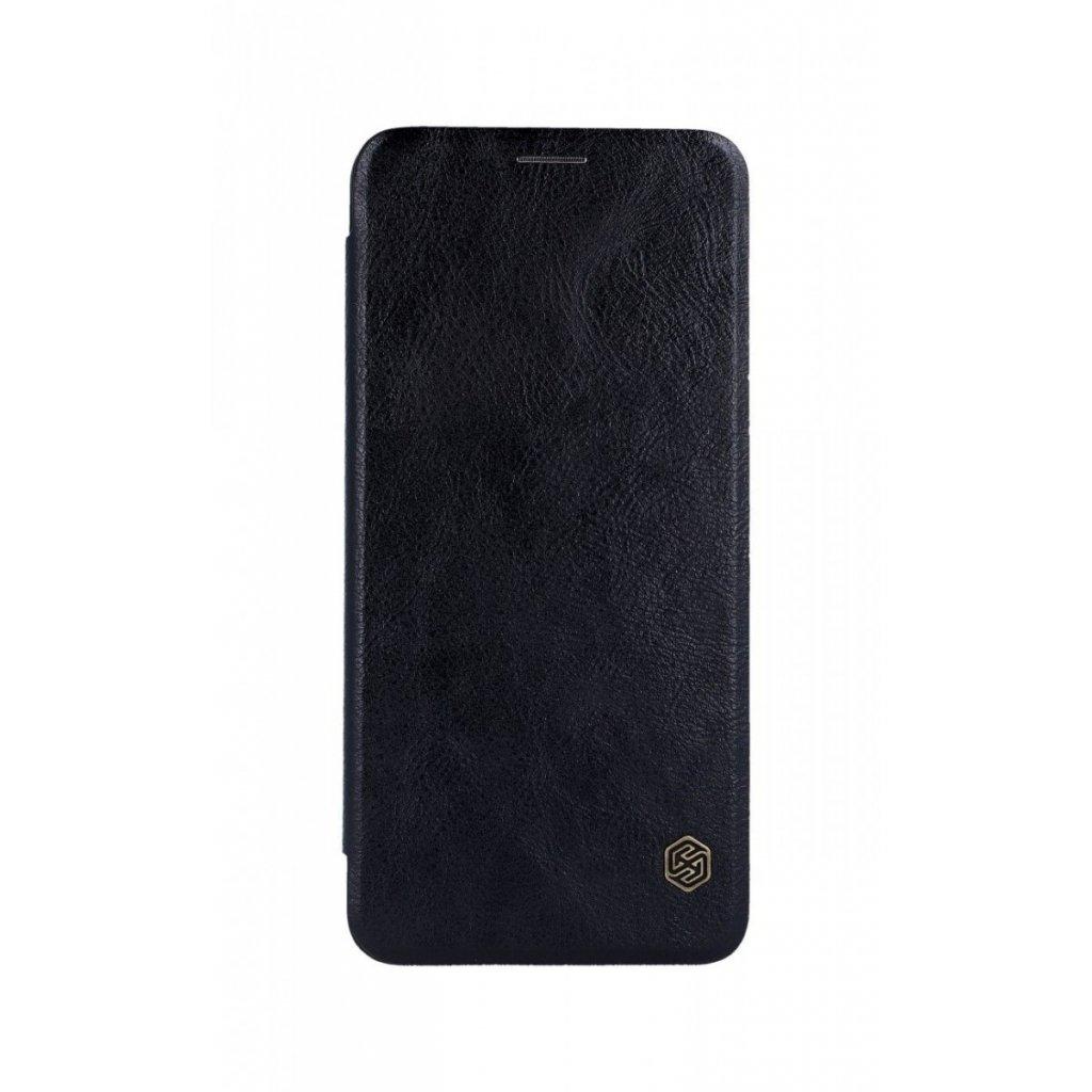 Flipové puzdro Nillkin Qin na Samsung A9 kožené čierne
