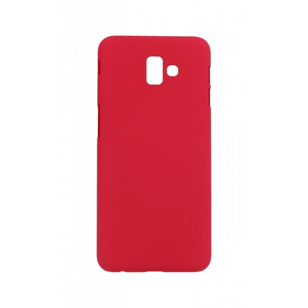 Zadný pevný kryt Nillkin na Samsung J6 + červený