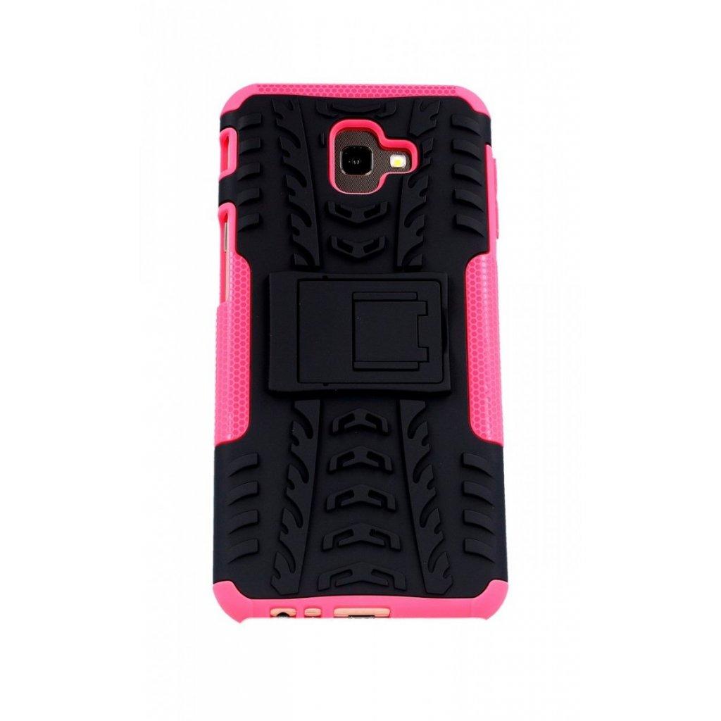Ultra odolný zadný kryt na Samsung J4 + ružový