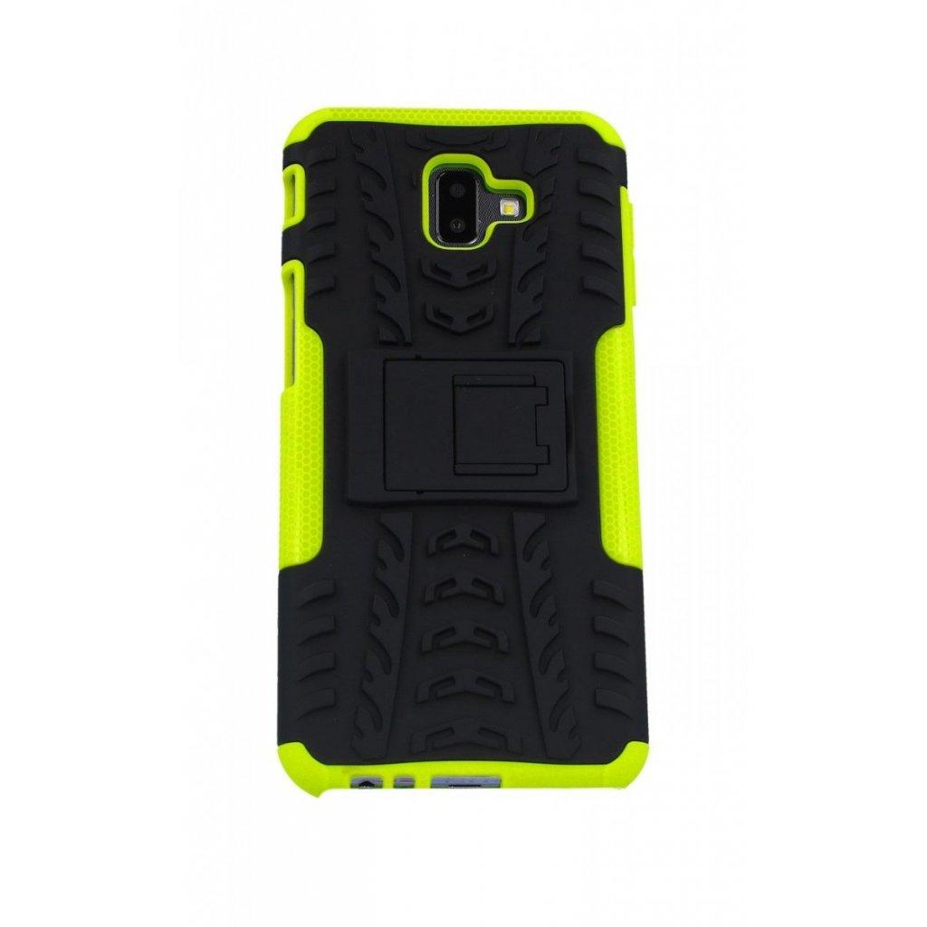 Ultra odolný zadný kryt na Samsung J6 + zelený