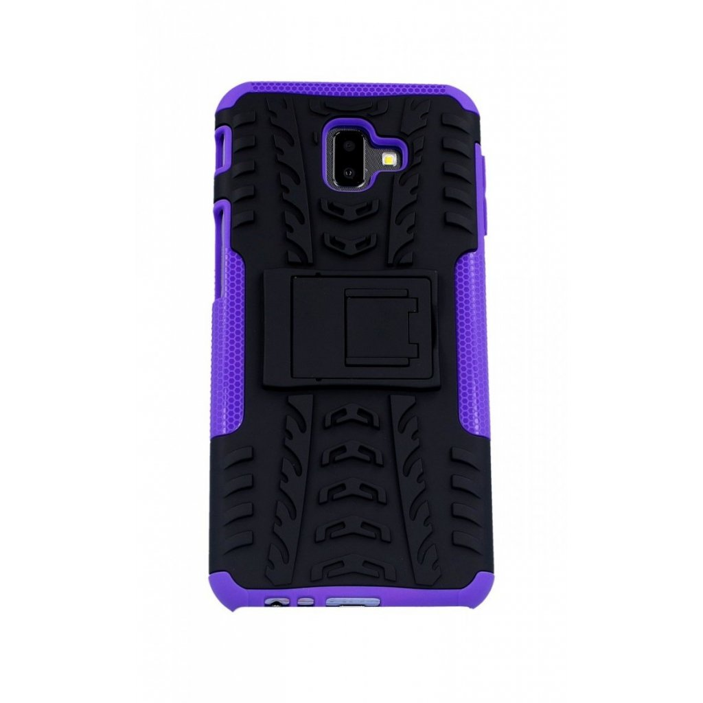 Ultra odolný zadný kryt na Samsung J6 + fialový