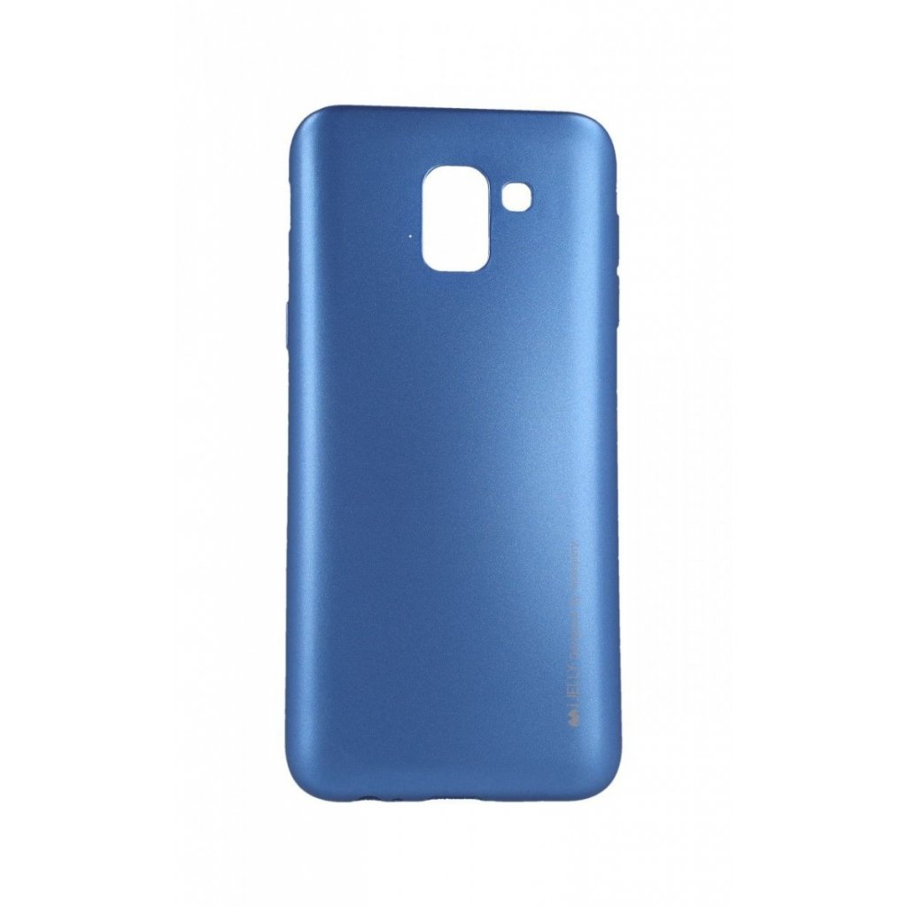 Zadný kryt Mercury iJelly Metal na Samsung J6 modrý