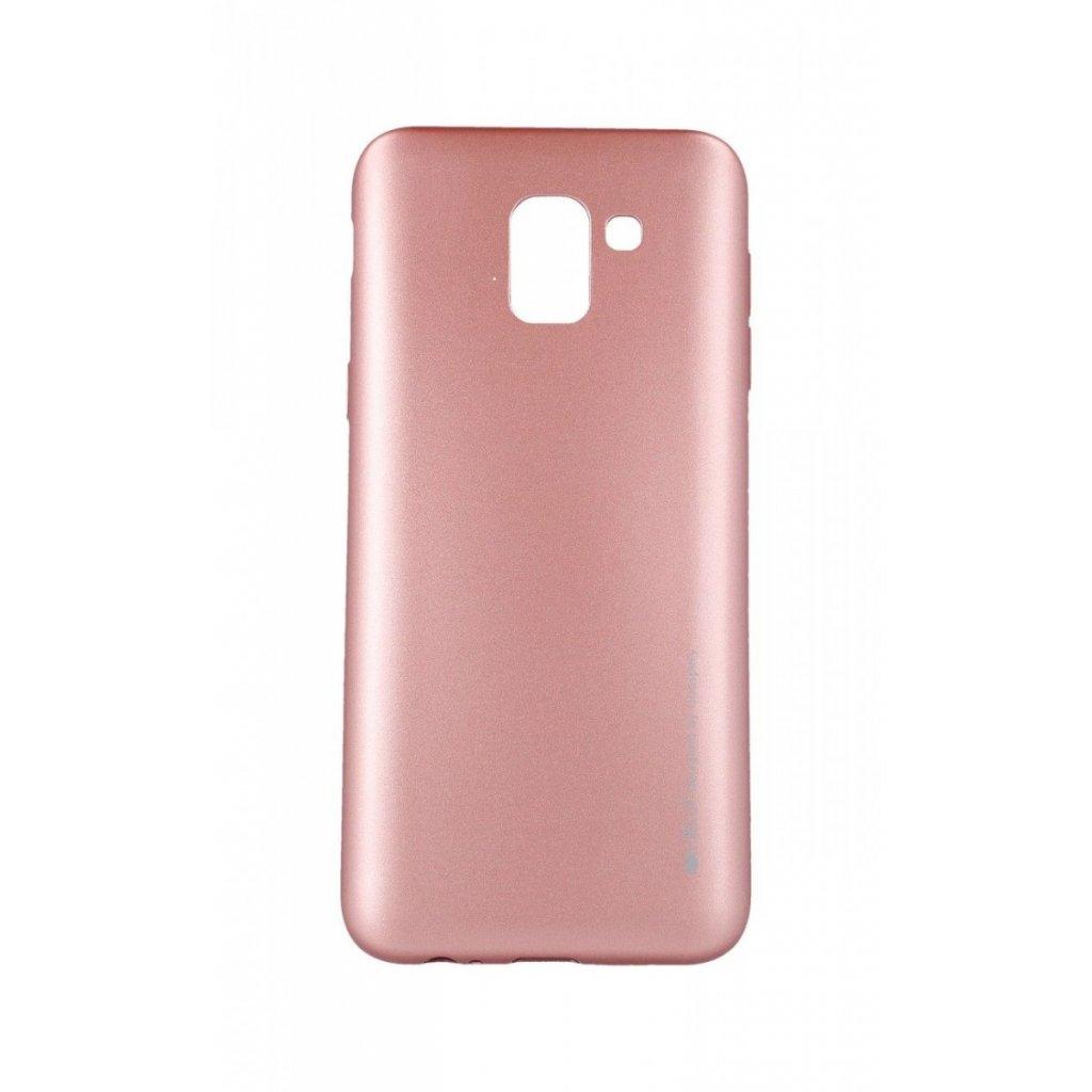 Zadný kryt Mercury iJelly Metal na Samsung J6 ružový svetlý