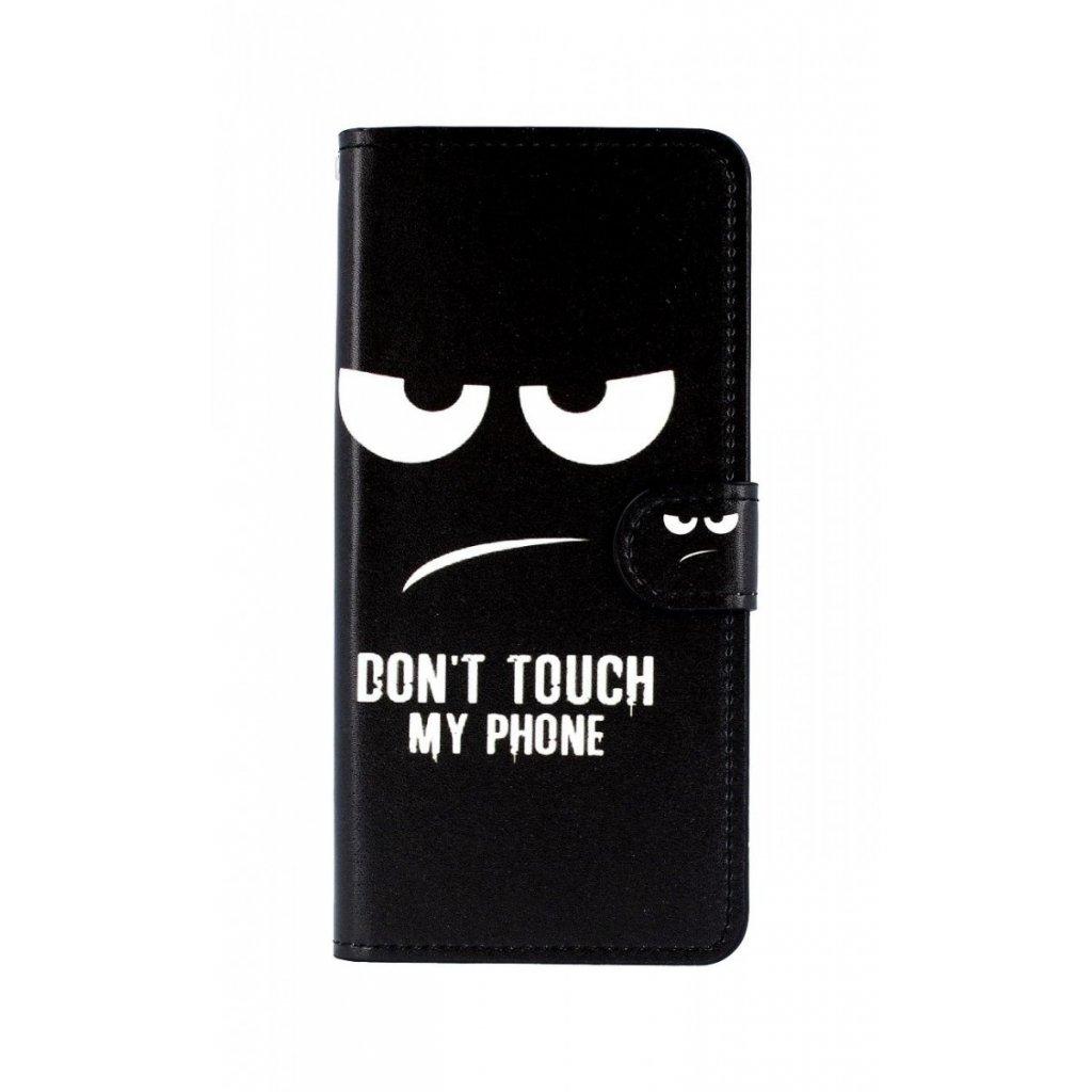 Flipové puzdro na Samsung J4 + Dont Touch koženka