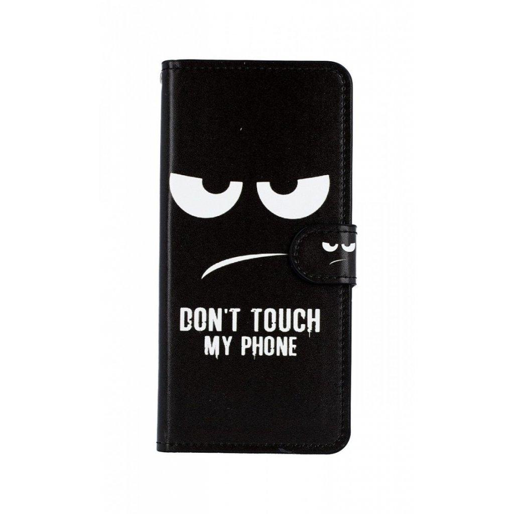 Flipové puzdro na Samsung J6 + Dont Touch koženka
