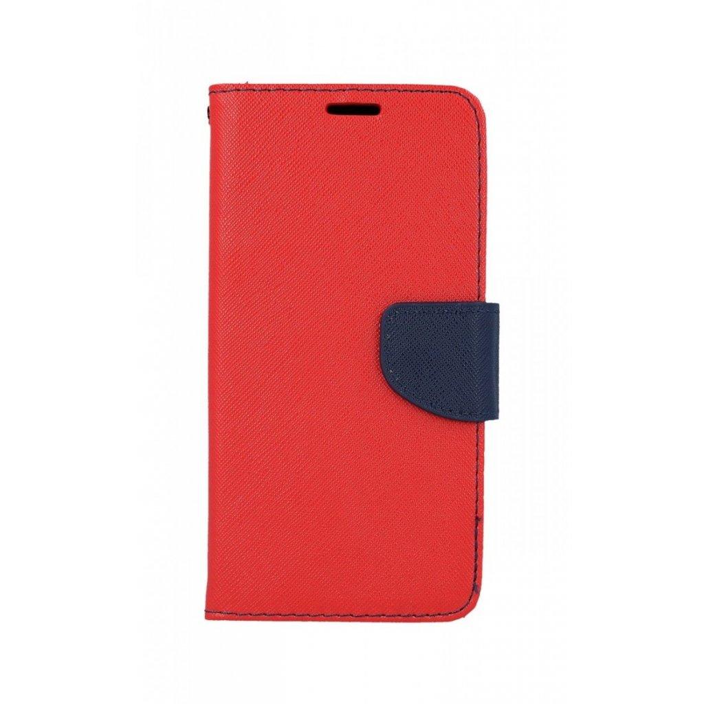 Flipové puzdro na Samsung A8 2018 červené